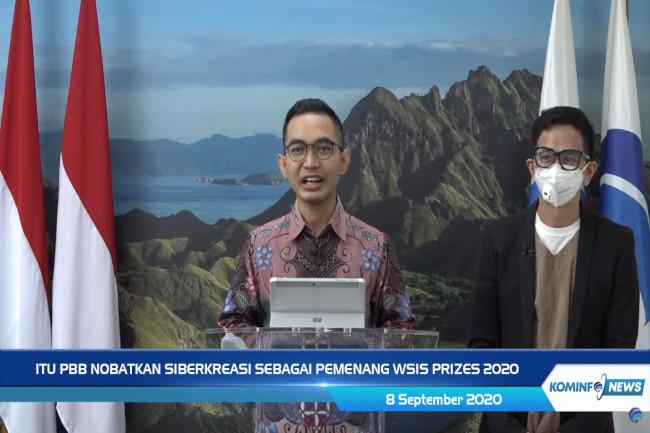 Pengumuman Indonesia dapat penghargaan dari ITU