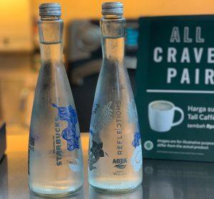 Botol Aqua Reflections