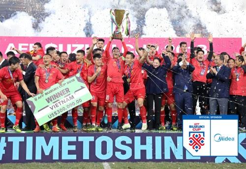 Midea sponsor resmi Piala AFF Suzuki 2021
