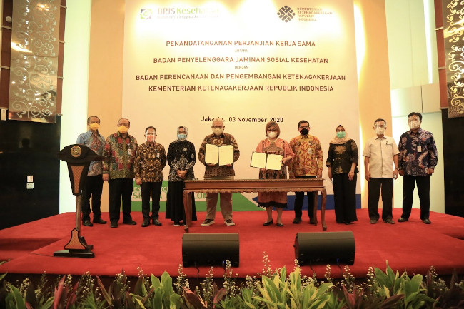 kerjasama BPJS Kesehatan-Kemenaker