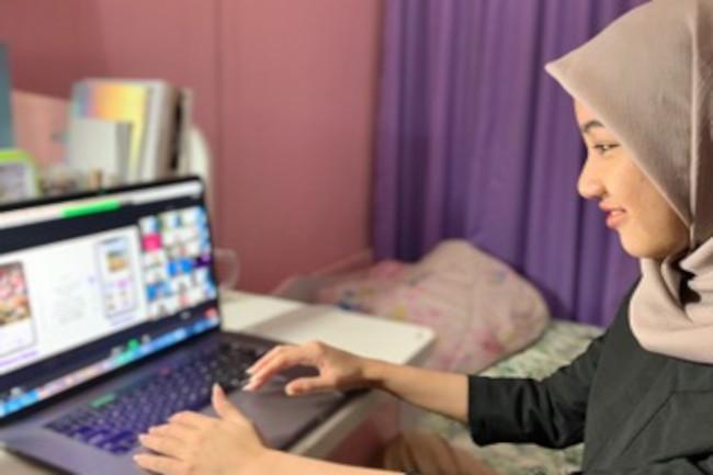 Anadina Harissa luluan Apple Academy