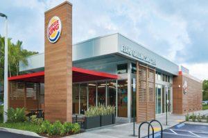salah satu cabang Burger King