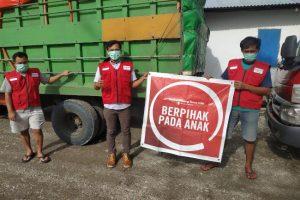 Bantuan kepada anak2 korban gempa Sulbar