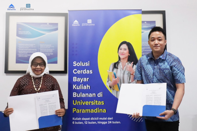 Kerjasama Universitas Paramadina dan Danacita