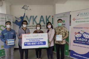 Donasi Good Doctor ke YKAKI