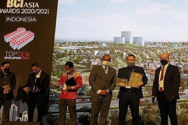 Penghargaan internasional yang diterima Sinar Mas Land